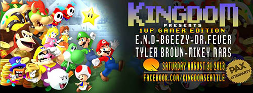 1UP PAX Party at Kingdom