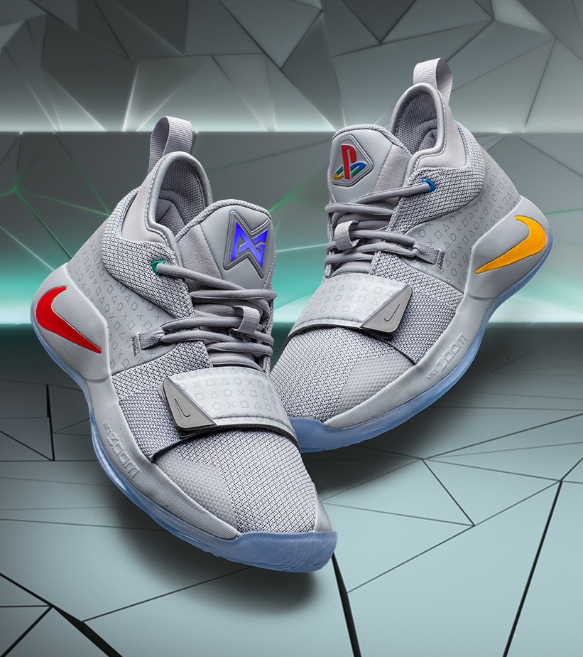 Sony reveals the Nike PG 2.5 x PlayStation colorway