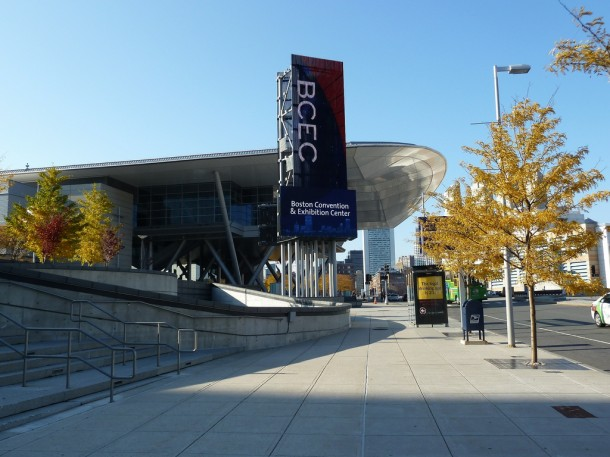Boston Convention and Exhibition Center, courtesy of the Massachusetts Office of Travel & Tourism.