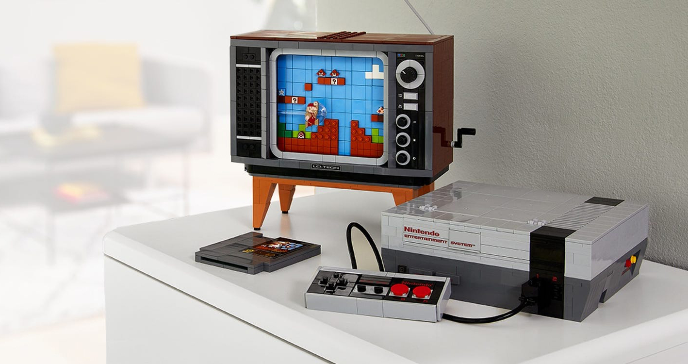 Nintendo officially reveals the LEGO NES