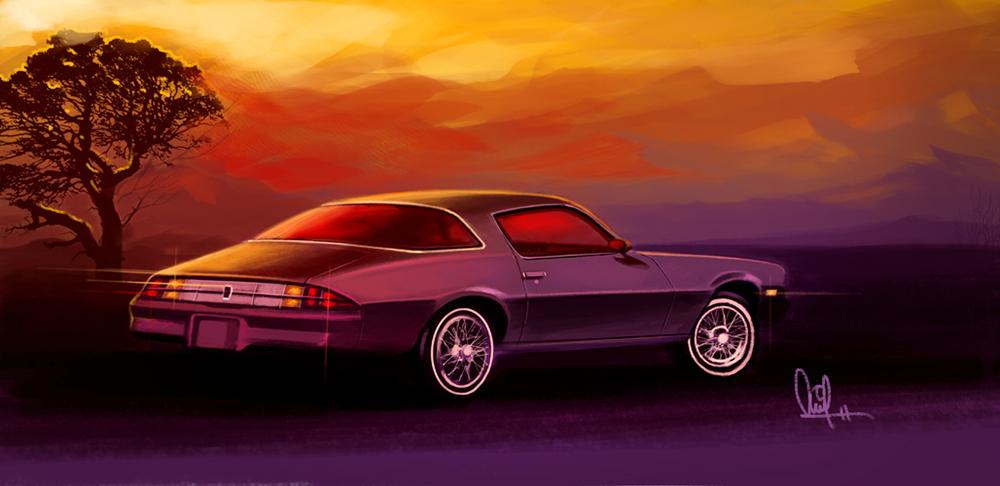 80's Chevy Camaro