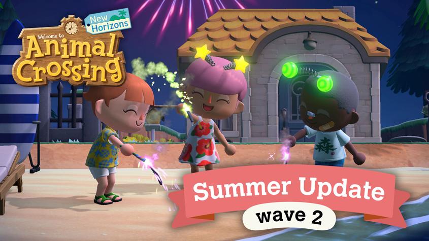Animal Crossing Summer Update Wave 2 brings fireworks and dreams