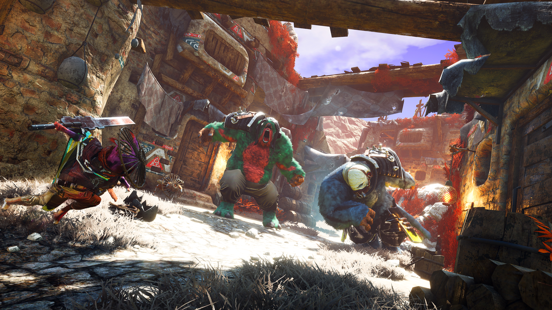 Biomutant shares series of comparison videos prior to launch