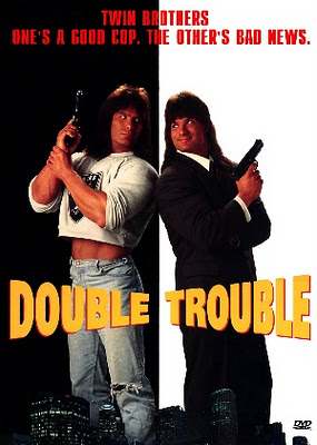 DOUBLE TROUBLE 1992 poster cult movies download