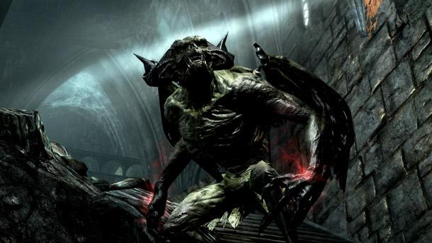 Skyrim Dawnguard Gargoyle