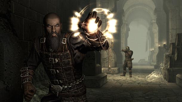 Skyrim: Dawnguard Isran Fight