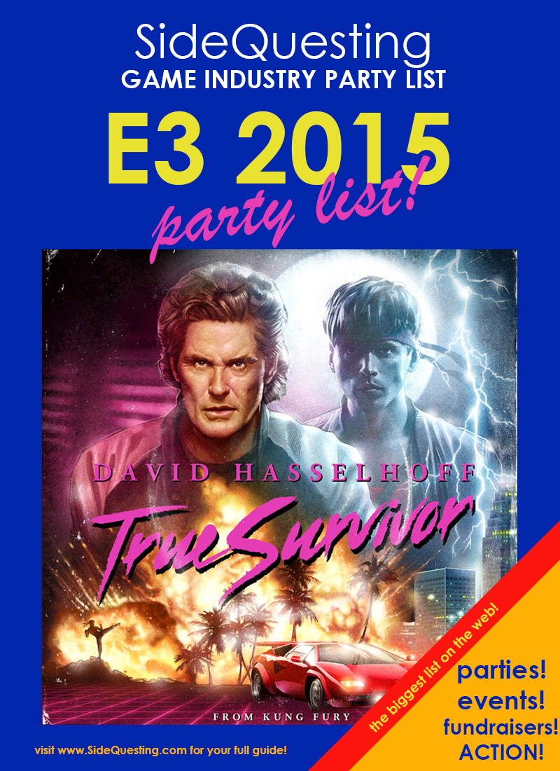 The BIG E3 2015 Party List: Parties, Events, Fundraisers and more