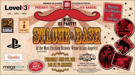E3 2012 WIGI Party Poster