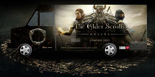 Elder Scrolls Online PAX Prime 2013 food truck