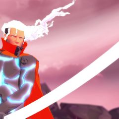 Furi review: Patron saint of boss fights