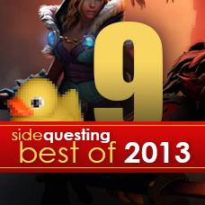 SideQuesting's Best of 2013 #9: Dota 2