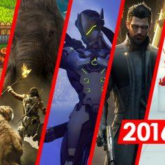 Erron's Favourite Games of 2016