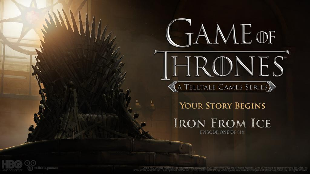 Telltales Games' Game of Thrones series launches Dec. 2
