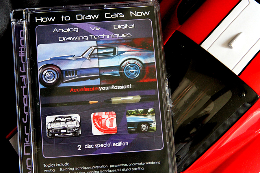 How To Draw Cars Now DVD Pack