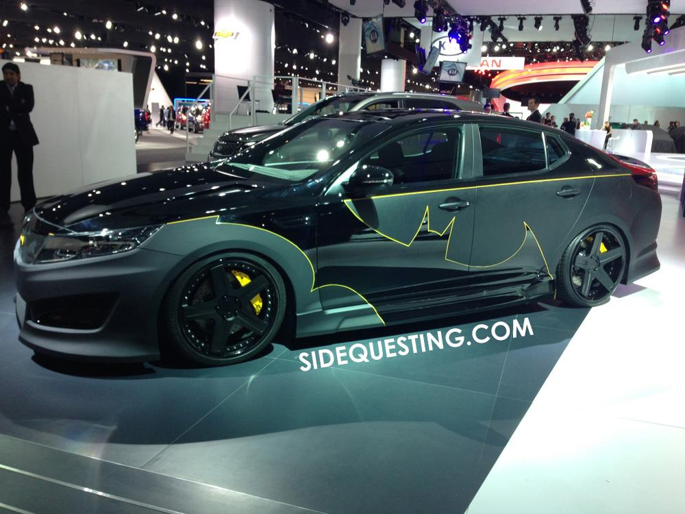 KIA Batman Car
