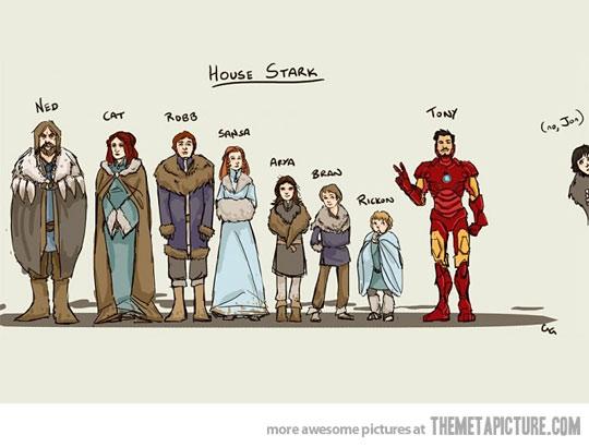 Stark Family Lineup