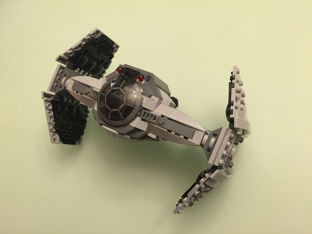 Let's Build: LEGO Star Wars TIE Fighter Advanced Prototype [Video]