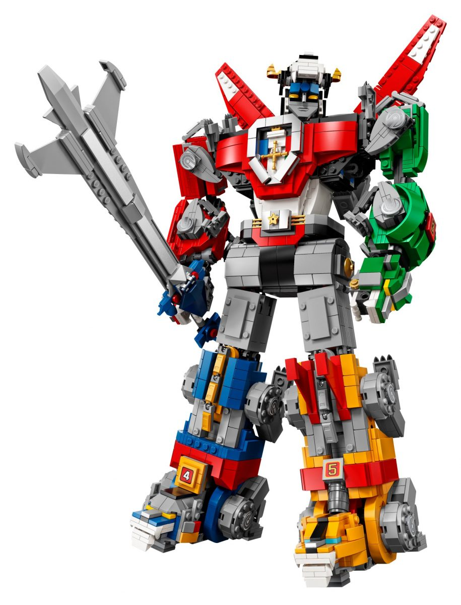 LEGO Ideas reveals Voltron set