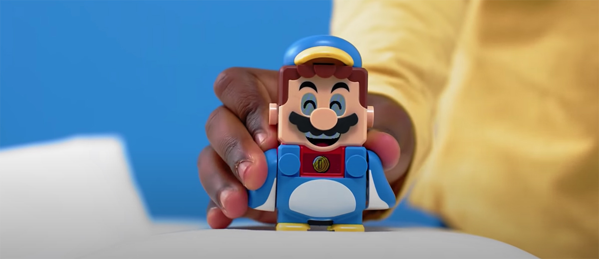 Nintendo reveals second LEGO Super Mario wave