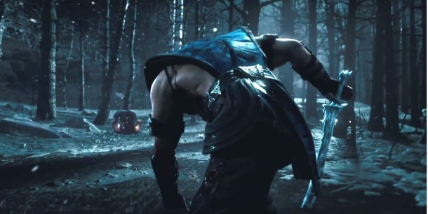 Mortal Kombat Sub Zero Face