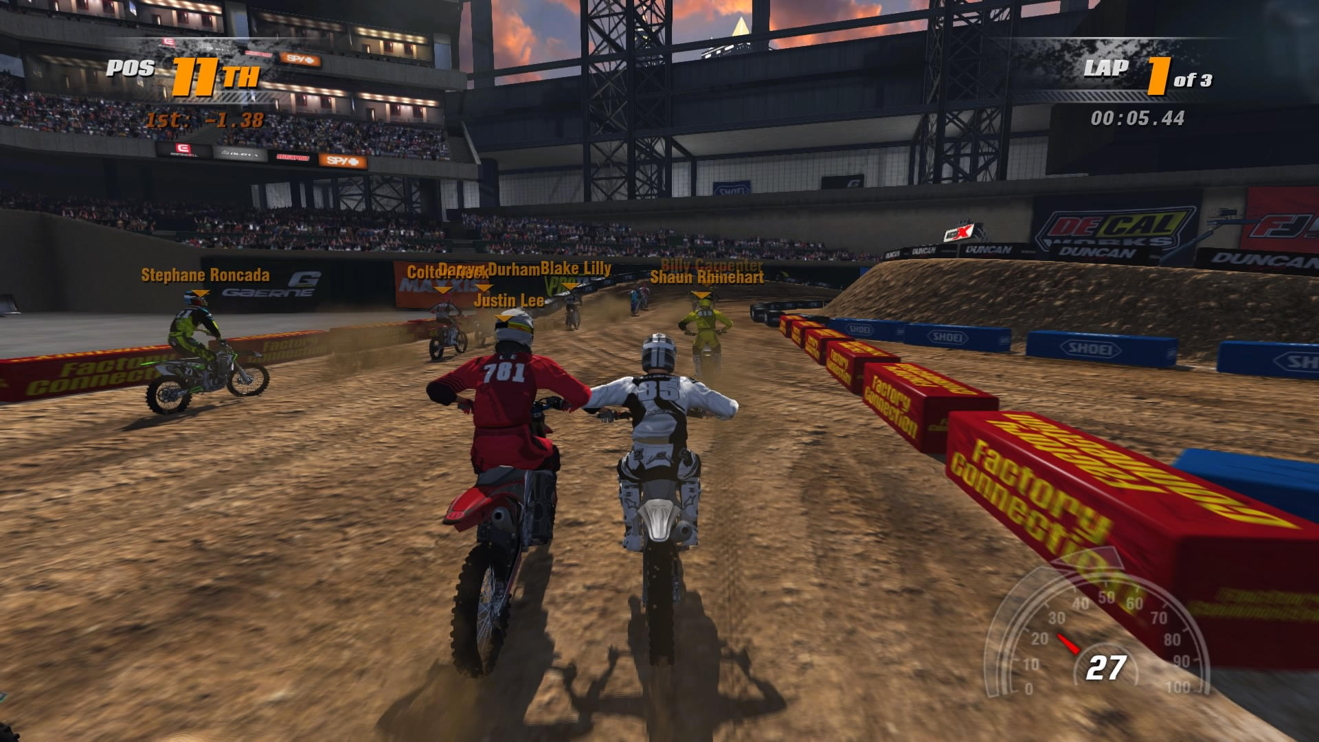 All Out Offroad >> MX vs. ATV Supercross Encore Review: Dirt Nasty | SideQuesting