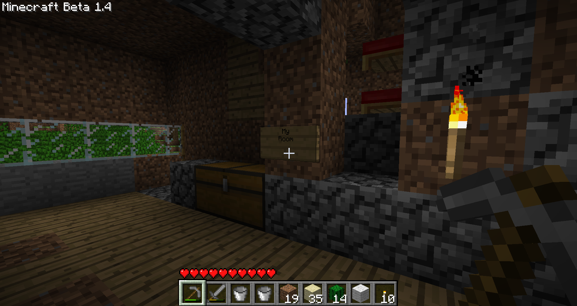 My Daughters Box Room Right Side: My Minecraft Room
