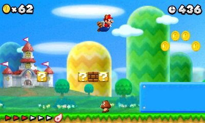 New Super Mario Bros 2 for 3DS in August