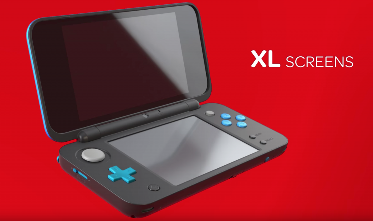 Nintendo announces new 2ds xl coming july 28th sidequesting for Housse new 2ds xl