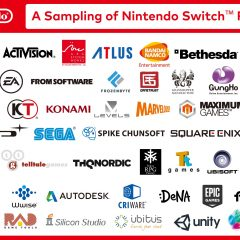Nintendo's Switch has an impressive list of excited developers