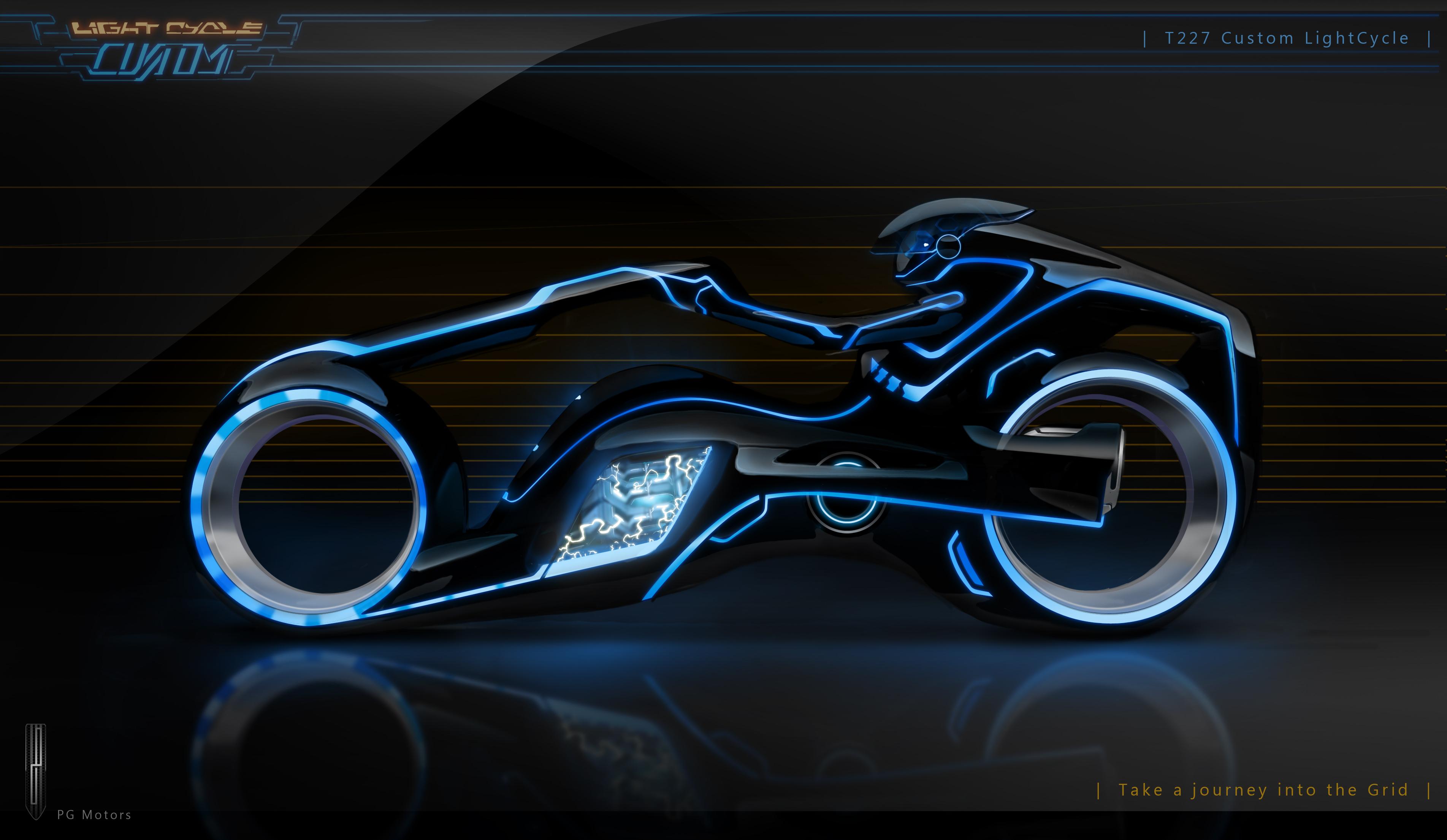 TRON - Clu'-s Light Cycle by ~Paul-Muad-Dib on deviantART ...