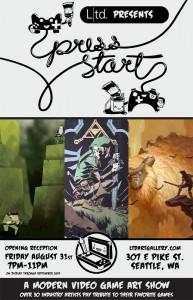 Press Start art show
