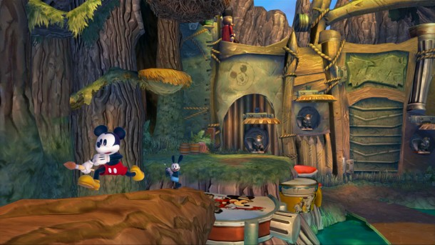 Epic Mickey 2: The Power of Two screen shot