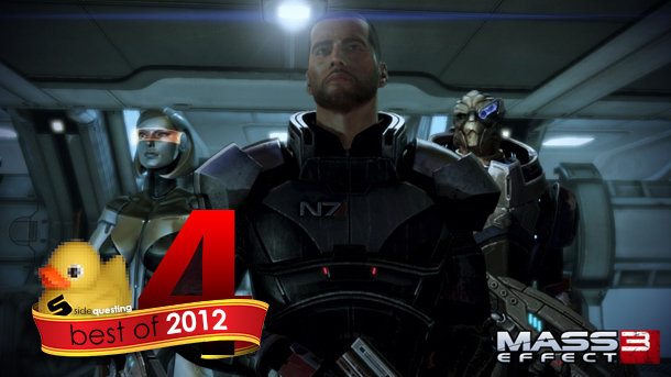 SideQuesting's Best of 2012 #4: Mass Effect 3