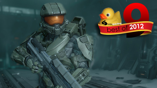 SideQuesting's Best of 2012 #9: Halo 4