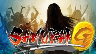 Samurai G title screen logo