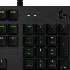 Logitech G512 Carbon Review: Simple and Clean