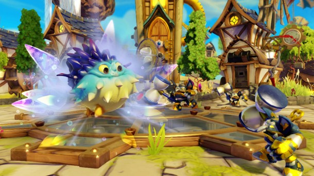 Skylanders Swap Force review Pop Thorn