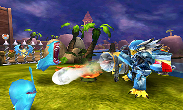 Skylanders Giants 3DS Jet Vac screenshot
