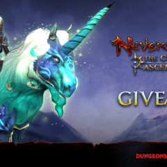 Giveaway: Neverwinter: The Cloaked Ascendancy mounts (PS4 & Xbox One)