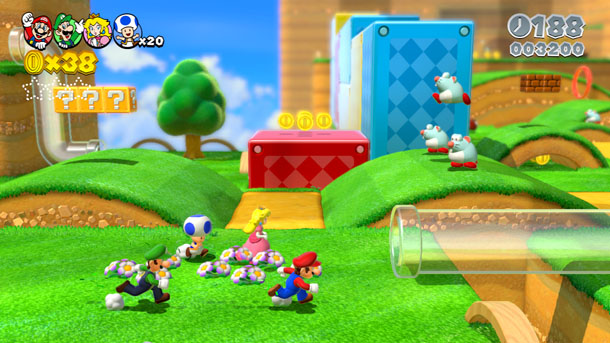 Super Mario 3D World is looking more and more impressive