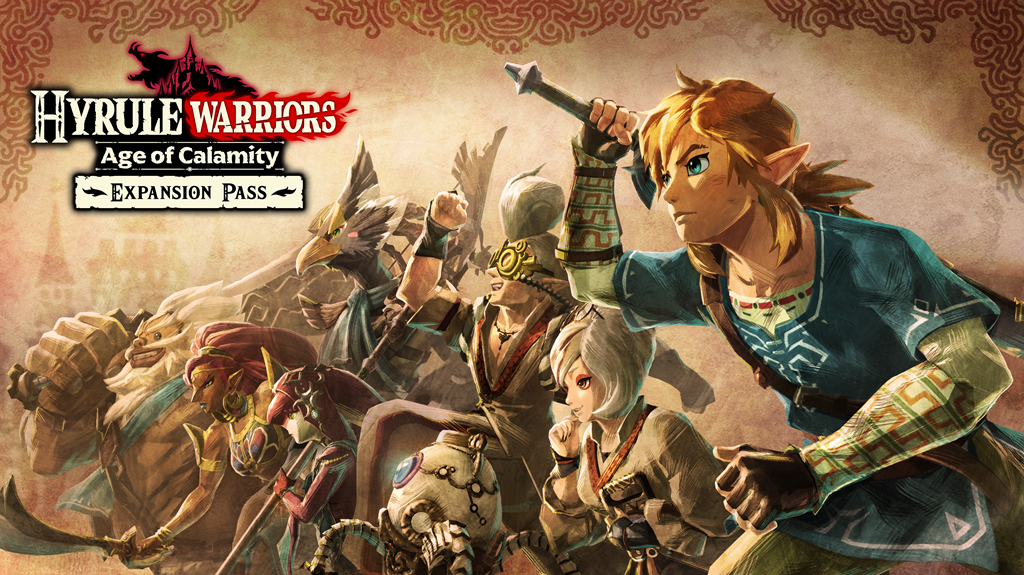 Hyrule Warriors: Age of Calamity expansion pass revealed