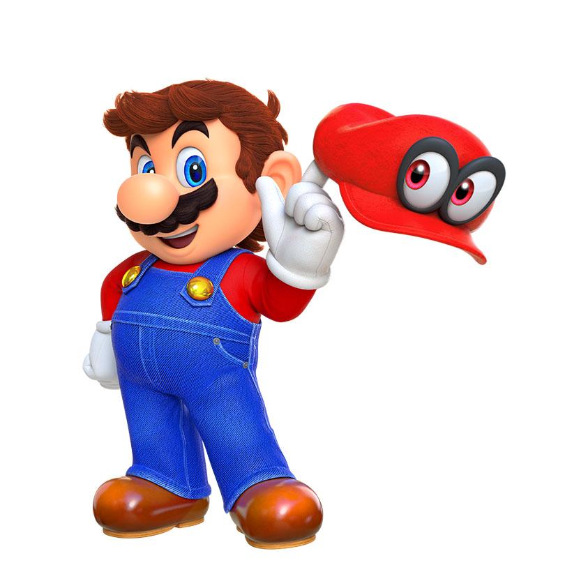 E3: Meet Cappy, Mario's hat