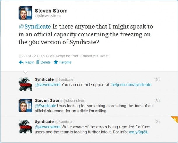 Syndicate Conversation