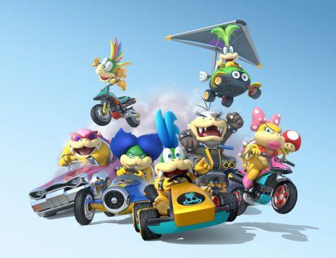 Wii U Mario Kart 8 Koopalings