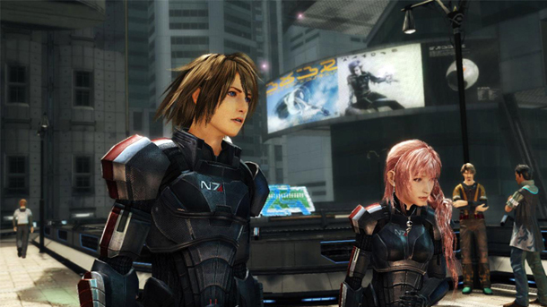 Final Fantasy XIII-2 Mass Effect 3