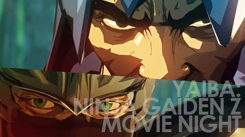 Yaiba Ninja Gaiden Z Movie Night