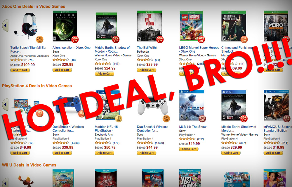 Amazon's Black Friday deals go live, include Lightning Deals, games, consoles, more