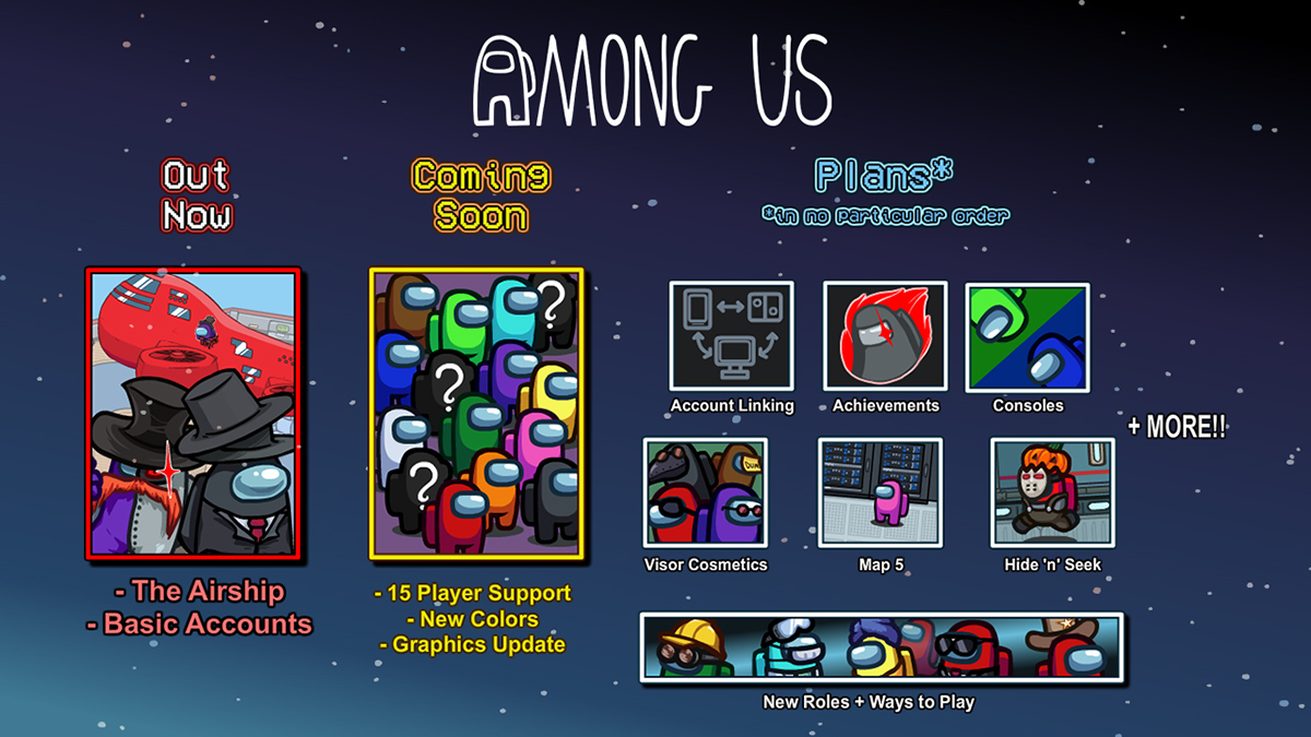Among Us adding new modes and colors