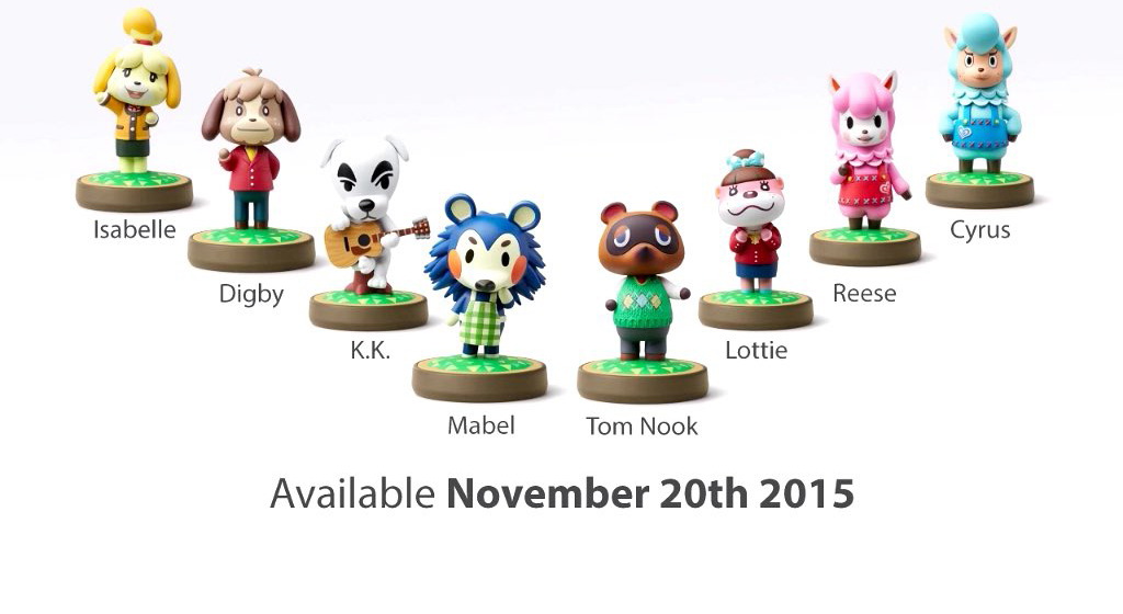 Here Are All The New Amiibo Coming To Wreck Your Wallets Sidequesting