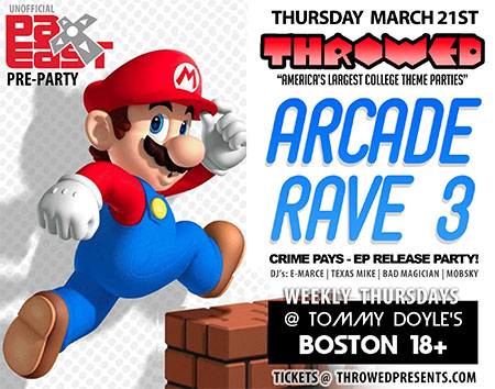 Arcade Rave PAX East Party
